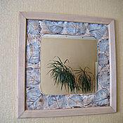 """Для дома и интерьера ручной работы. Ярмарка Мастеров - ручная работа Зеркало-картина """"Нежность"""". Handmade."""