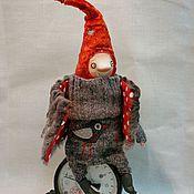 Куклы и игрушки ручной работы. Ярмарка Мастеров - ручная работа Гном  в красном колпачке. Handmade.
