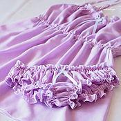 """Одежда ручной работы. Ярмарка Мастеров - ручная работа """"Доброе утро"""". Комплект белья из хлопка. Handmade."""