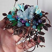 Украшения handmade. Livemaster - original item Forest pendant SNOWDROPS. Handmade.
