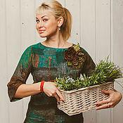 """Одежда ручной работы. Ярмарка Мастеров - ручная работа Джемпер """"Пряные травы"""". Handmade."""