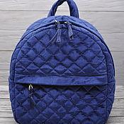 Рюкзаки ручной работы. Ярмарка Мастеров - ручная работа Бархатный рюкзак. Handmade.