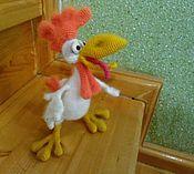 Куклы и игрушки ручной работы. Ярмарка Мастеров - ручная работа Петя петушок.подарок к новому году. Handmade.