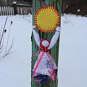 """Куклы и игрушки ручной работы. Ярмарка Мастеров - ручная работа """"Домашняя Масленица"""" кукла - оберег. Handmade."""
