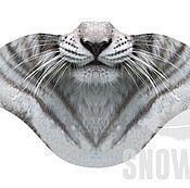 Одежда ручной работы. Ярмарка Мастеров - ручная работа Ветрозащитная маска Белый тигр. Handmade.