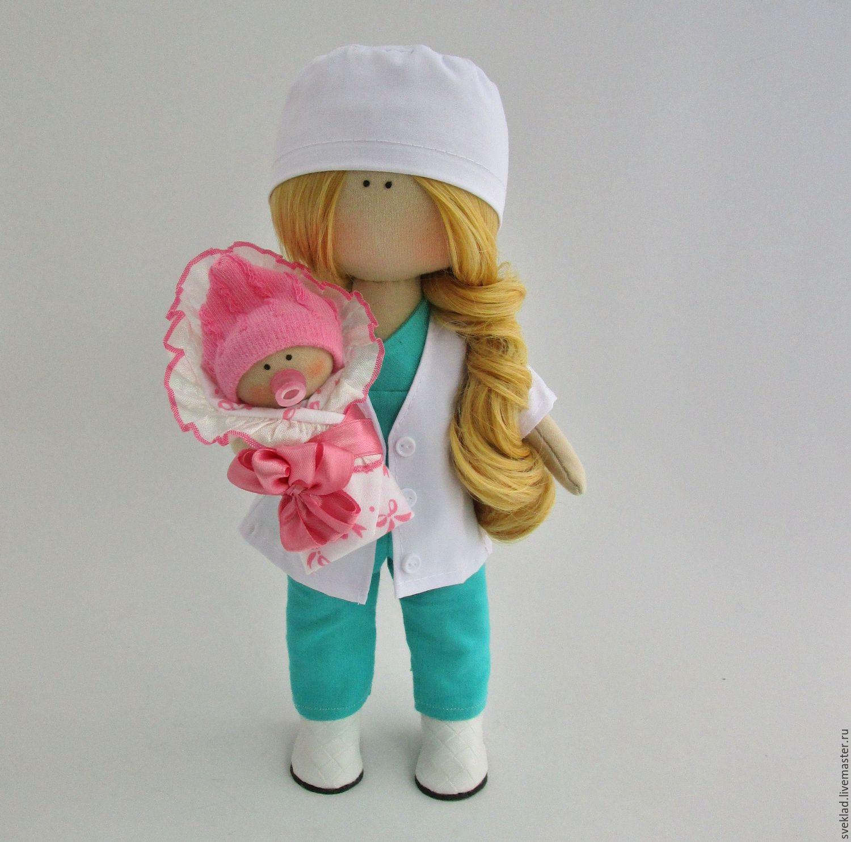 Интерьерная кукла доктор