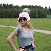 Аксессуары handmade. Livemaster - original item Woolen hat pink
