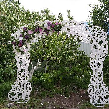 Свадебный салон ручной работы. Ярмарка Мастеров - ручная работа Аксессуары: арка варвара. Handmade.
