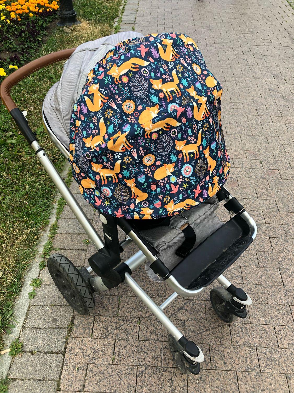 Козырек для коляски универсальный «Лисички», Козырек для коляски, Москва,  Фото №1