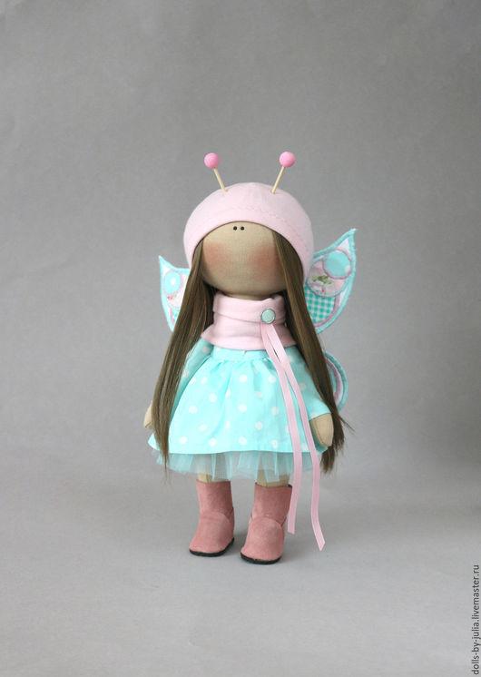 Коллекционные куклы ручной работы. Ярмарка Мастеров - ручная работа. Купить Mint Butterfly. Handmade. Мятный, кукла ручной работы