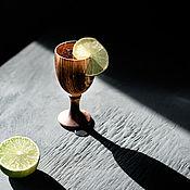 Посуда handmade. Livemaster - original item Wooden glass made of Siberian cedar wood R39. Handmade.