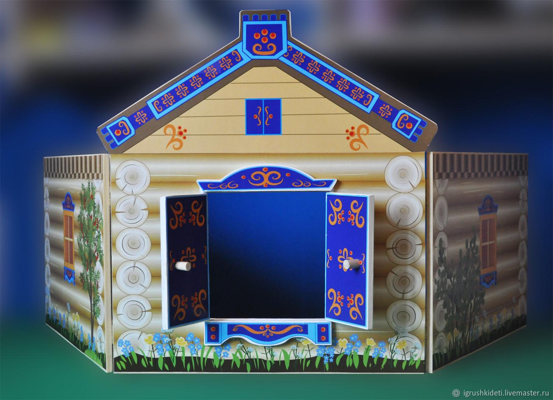 Дом-ширма для настольного театра, Кукольные домики, Нижний Новгород,  Фото №1