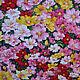 """Шитье ручной работы. Ярмарка Мастеров - ручная работа. Купить Хлопок ткань для пэчворка """"Цветы"""". Корея. Handmade. Цветы, с рисунком"""