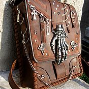 Сумки и аксессуары handmade. Livemaster - original item Waist bag: Bag on your hip. Handmade.