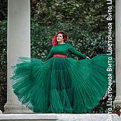 Одежда ручной работы. Ярмарка Мастеров - ручная работа Вечерняя юбка-пачка. Handmade.