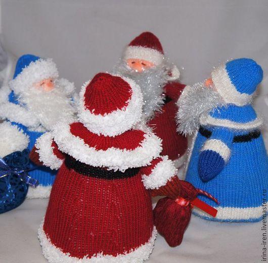Новый год 2017 ручной работы. Ярмарка Мастеров - ручная работа. Купить Дед Мороз. Handmade. Дед мороз, новый, Праздник
