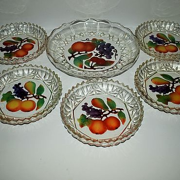 Vintage handmade. Livemaster - original item Vintage set for table. S. Reich 19th century.. Handmade.
