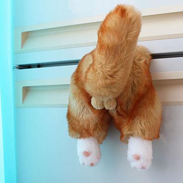 Сувениры и подарки ручной работы. Ярмарка Мастеров - ручная работа Приколы: Магнит рыжий кот.. Handmade.