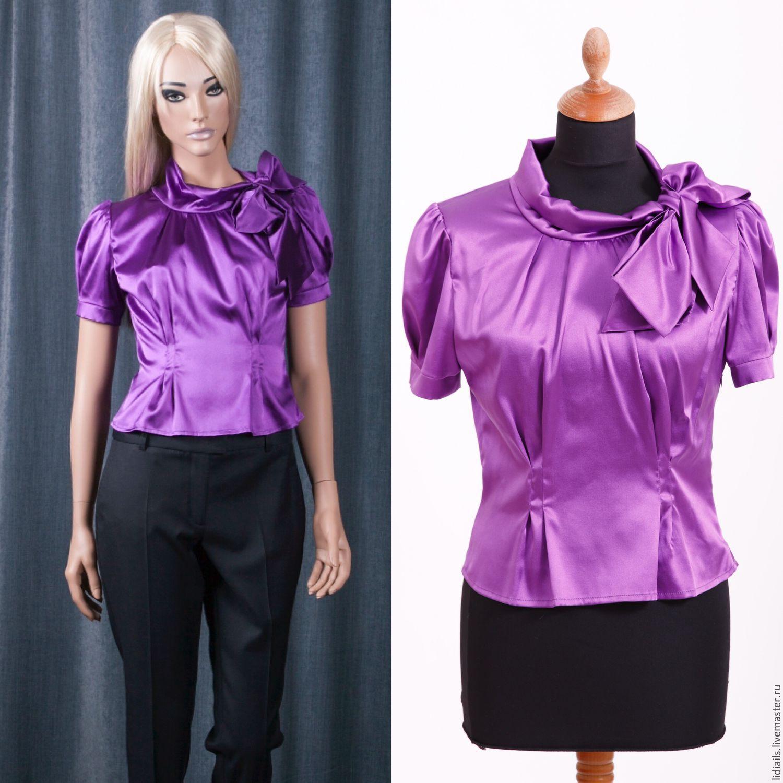 Женские блузки из шелка доставка