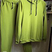 Спортивные костюмы ручной работы. Ярмарка Мастеров - ручная работа Спортивные костюмы: Тёплый женский костюм. Handmade.
