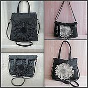 Classic Bag handmade. Livemaster - original item Leather bag art.1-284. Handmade.