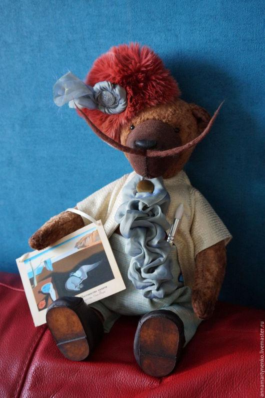 Мишки Тедди ручной работы. Ярмарка Мастеров - ручная работа. Купить Дон Сальвадор - коллекционный плюшевый медведь. Handmade. Комбинированный