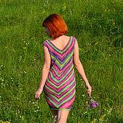"""Одежда ручной работы. Ярмарка Мастеров - ручная работа Летнее платье """"Степное"""". Handmade."""
