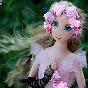 Куклы и игрушки ручной работы. Ярмарка Мастеров - ручная работа Жизель - авторская текстильная кукла. Handmade.