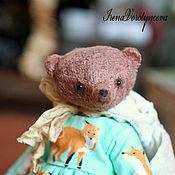 Куклы и игрушки ручной работы. Ярмарка Мастеров - ручная работа Мишка Энн нашла...папу.. Handmade.