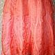 Платья ручной работы. Платье валяное Розовый фламинго. Юлия Блохина           (Wool charm). Ярмарка Мастеров. Платье из шерсти, шерсть