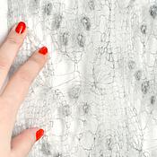 Аксессуары ручной работы. Ярмарка Мастеров - ручная работа Шарф-палантин Светло-серый с шишечками. Handmade.