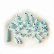 Куклы и игрушки handmade. Livemaster - original item Set of dinnerware (pawns) 27 items (1). Handmade.