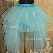 Одежда handmade. Livemaster - original item Skirt tulle adult with a train snowdrop. Handmade.