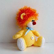 Куклы и игрушки ручной работы. Ярмарка Мастеров - ручная работа Вязаная игрушка Львенок. Handmade.