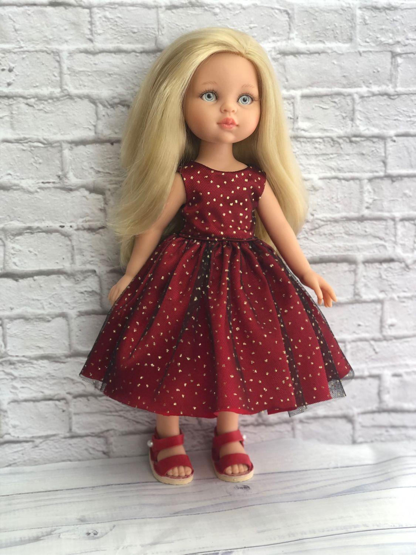 Нарядное платье, Одежда для кукол, Казань,  Фото №1