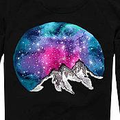 Одежда handmade. Livemaster - original item Sweatshirt, sweatshirt with hand painted
