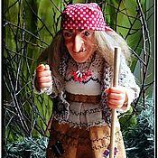 """Куклы и игрушки ручной работы. Ярмарка Мастеров - ручная работа Интерьерная кукла """"Баба-Яга"""". Handmade."""