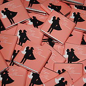 Свадебный салон ручной работы. Ярмарка Мастеров - ручная работа Black Silhouettes..Свадебные бонбоньерки. Handmade.