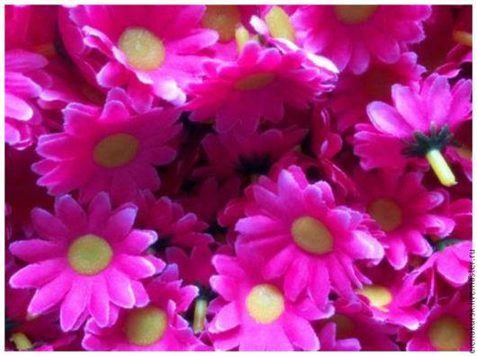 Материалы для флористики ручной работы. Ярмарка Мастеров - ручная работа. Купить Головки цветов  (ромашки). Handmade. Комбинированный, цветочки