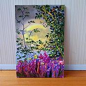 Картины и панно handmade. Livemaster - original item Author`s miniature in oil