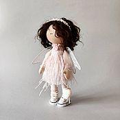 Куклы и игрушки handmade. Livemaster - original item tikvarovska: Doll: Angel delicate handmade Textile doll. Handmade.