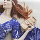 Женские сумки ручной работы. Ярмарка Мастеров - ручная работа. Купить Maya+. Маленькая театральная сумочка. (6). Handmade. Бежевый