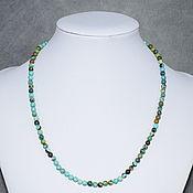 Работы для детей, handmade. Livemaster - original item Beads of natural turquoise. Handmade.