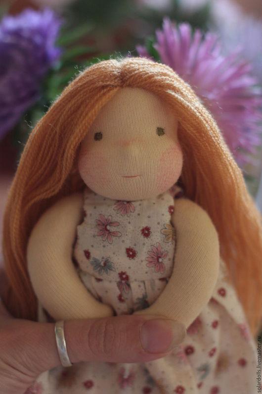 Лиза 17см Вальдорфские куклы.Julia Solarrain (SolarDolls) Ярмарка Мастеров
