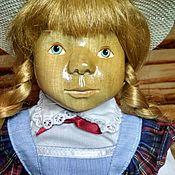 Куклы винтажные ручной работы. Ярмарка Мастеров - ручная работа Деревянная кукла из Западной Германии. Handmade.