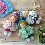 Вальдорфские куклы и звери ручной работы. Ярмарка Мастеров - ручная работа Вальдорфская кукла Горошины 17 см. Handmade.