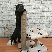 Когтеточки ручной работы. Ярмарка Мастеров - ручная работа Когтеточка для котят Малютка. Handmade.
