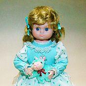 Куклы и игрушки ручной работы. Ярмарка Мастеров - ручная работа Игровая куколка Бредли ( имитация фарфора). Handmade.
