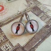 Украшения handmade. Livemaster - original item Guardsman earrings (earrings). Handmade.