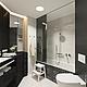 Дизайн интерьеров ручной работы. Ярмарка Мастеров - ручная работа. Купить ванная. Handmade. Чёрно-белый, натяжные потолки, мозаика
